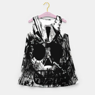 Miniaturka grim fandango Girl's summer dress, Live Heroes