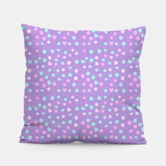 Thumbnail image of heart drops Pillow, Live Heroes
