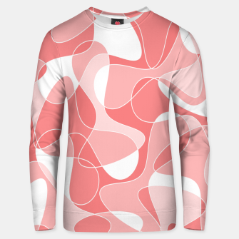 Miniaturka Abstract pattern - pink. Unisex sweater, Live Heroes