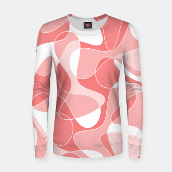 Miniature de image de Abstract pattern - pink. Women sweater, Live Heroes