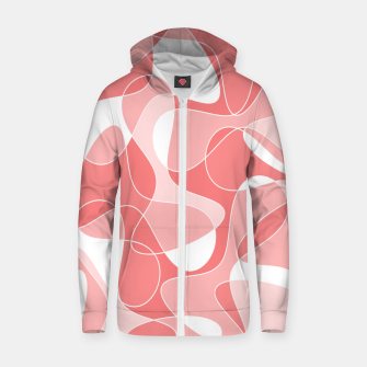 Miniature de image de Abstract pattern - pink. Zip up hoodie, Live Heroes
