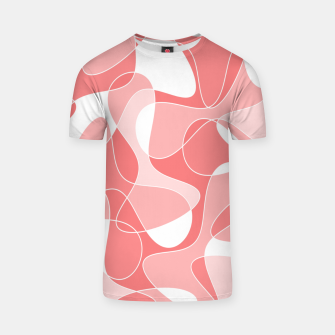 Thumbnail image of Abstract pattern - pink. T-shirt, Live Heroes