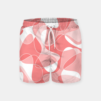 Thumbnail image of Abstract pattern - pink. Swim Shorts, Live Heroes