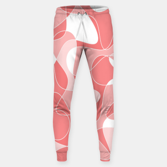 Thumbnail image of Abstract pattern - pink. Sweatpants, Live Heroes