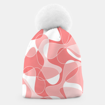 Thumbnail image of Abstract pattern - pink. Beanie, Live Heroes