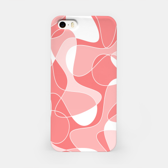 Thumbnail image of Abstract pattern - pink. iPhone Case, Live Heroes