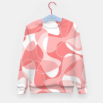 Imagen en miniatura de Abstract pattern - pink. Kid's sweater, Live Heroes