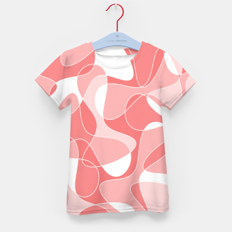 Thumbnail image of Abstract pattern - pink. Kid's t-shirt, Live Heroes