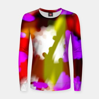 Thumbnail image of Redroselifesigns Women sweater, Live Heroes