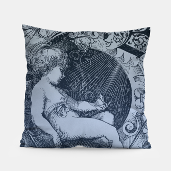 Miniature de image de victorian angel with shining light Pillow, Live Heroes