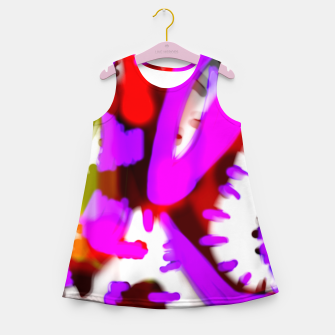 Thumbnail image of Redroselifesigns Girl's summer dress, Live Heroes