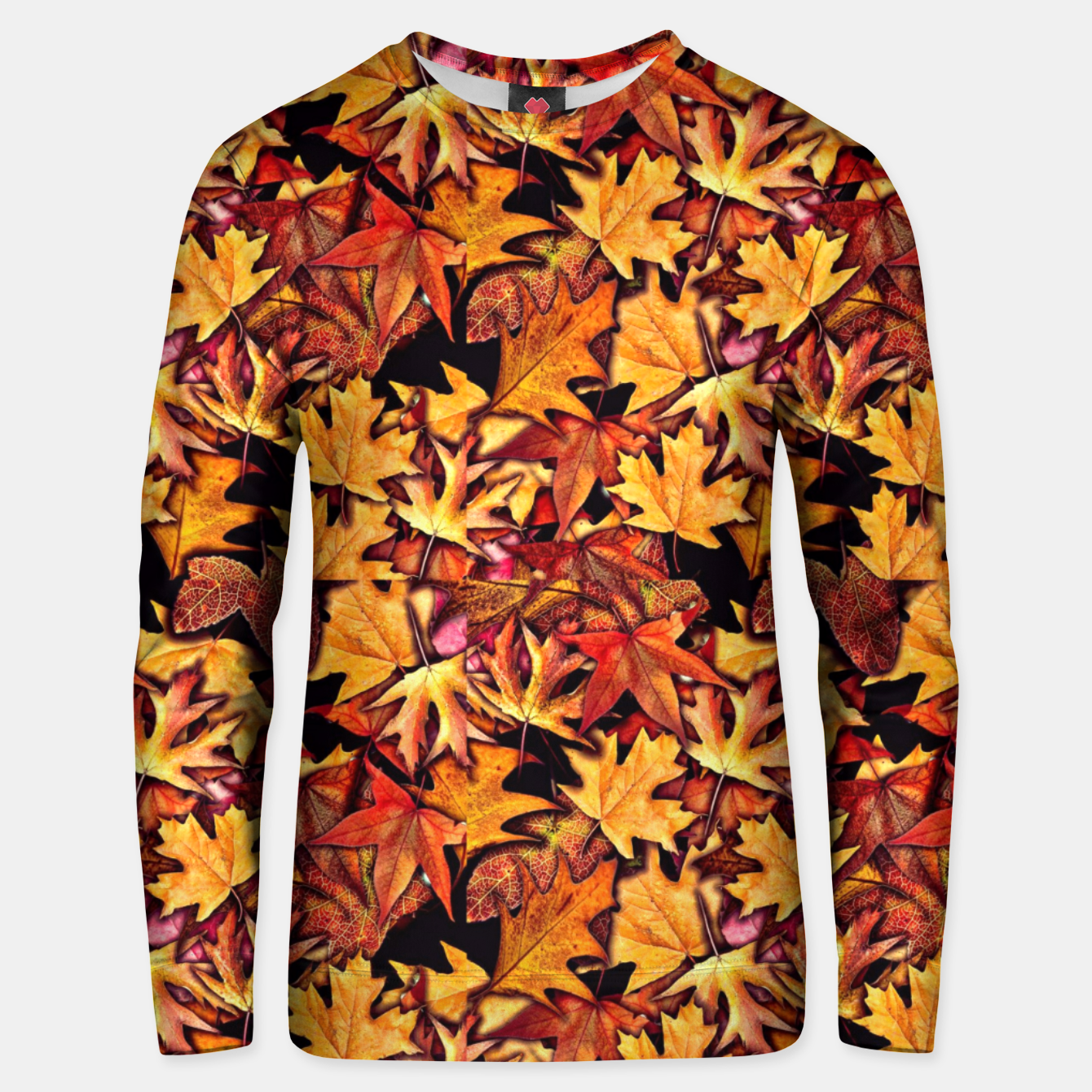 Image of Fall Leaves Pattern Unisex sweater - Live Heroes
