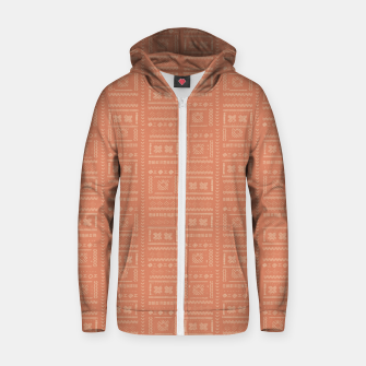 Thumbnail image of Bohemian Oriental Traditional African Moroccan Style Pattern Zip up hoodie, Live Heroes