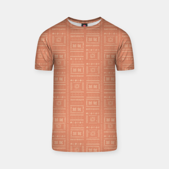 Thumbnail image of Bohemian Oriental Traditional African Moroccan Style Pattern T-shirt, Live Heroes