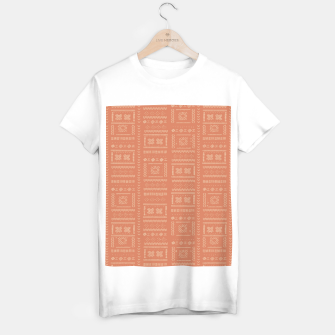Thumbnail image of Bohemian Oriental Traditional African Moroccan Style Pattern T-shirt regular, Live Heroes