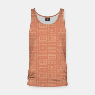 Thumbnail image of Bohemian Oriental Traditional African Moroccan Style Pattern Tank Top, Live Heroes