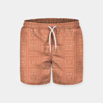 Thumbnail image of Bohemian Oriental Traditional African Moroccan Style Pattern Swim Shorts, Live Heroes