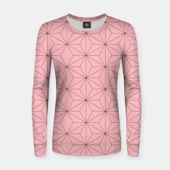 Thumbnail image of Nezuko Pattern Women sweater, Live Heroes