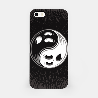 Miniature de image de Ghost Yin Yang Black and White iPhone Case, Live Heroes