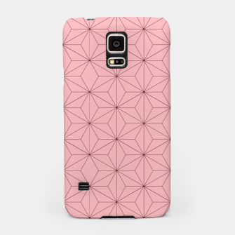 Thumbnail image of Nezuko Pattern Samsung Case, Live Heroes