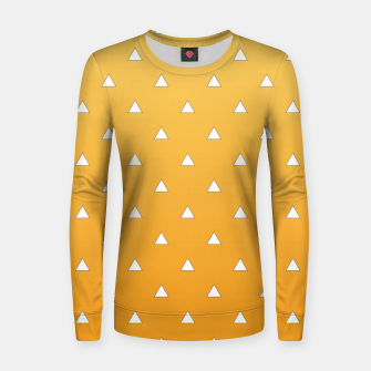 Thumbnail image of Zenitsu Pattern Women sweater, Live Heroes