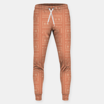Thumbnail image of Bohemian Oriental Traditional African Moroccan Style Pattern Sweatpants, Live Heroes