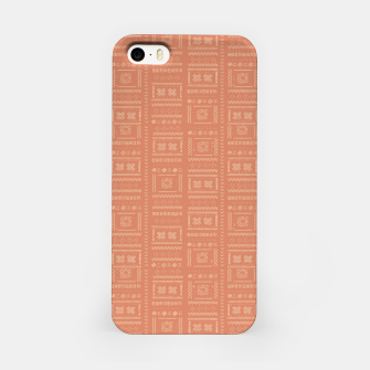 Thumbnail image of Bohemian Oriental Traditional African Moroccan Style Pattern iPhone Case, Live Heroes