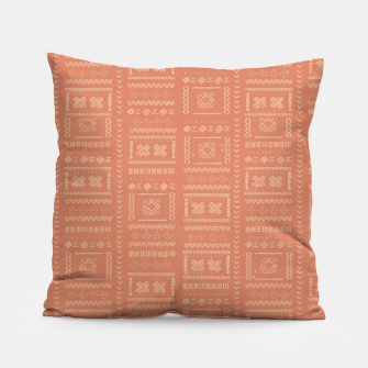 Thumbnail image of Bohemian Oriental Traditional African Moroccan Style Pattern Pillow, Live Heroes