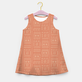Thumbnail image of Bohemian Oriental Traditional African Moroccan Style Pattern Girl's summer dress, Live Heroes