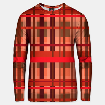 Fall Plaid Unisex sweater thumbnail image