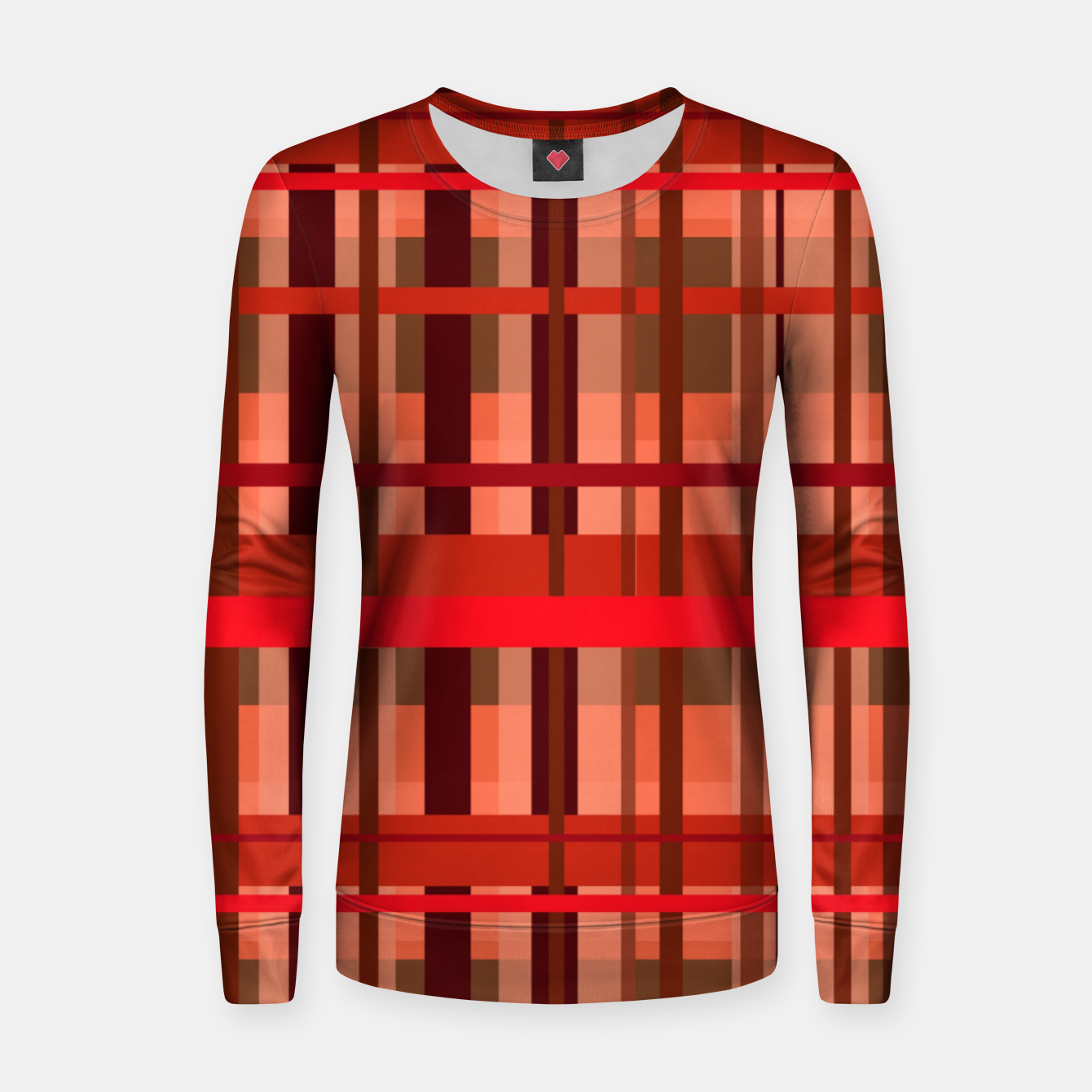Image of Fall Plaid Women sweater - Live Heroes