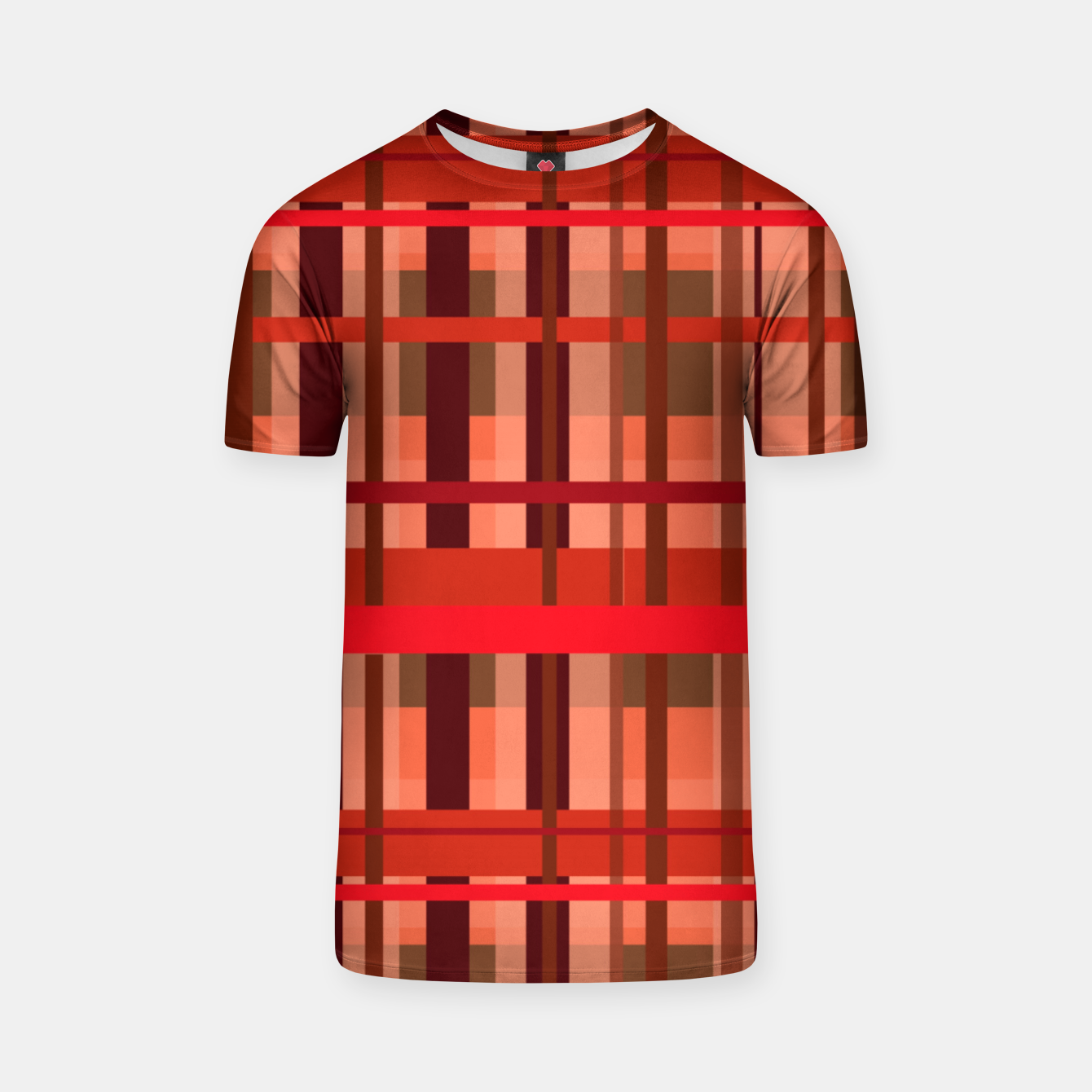Image of Fall Plaid T-shirt - Live Heroes