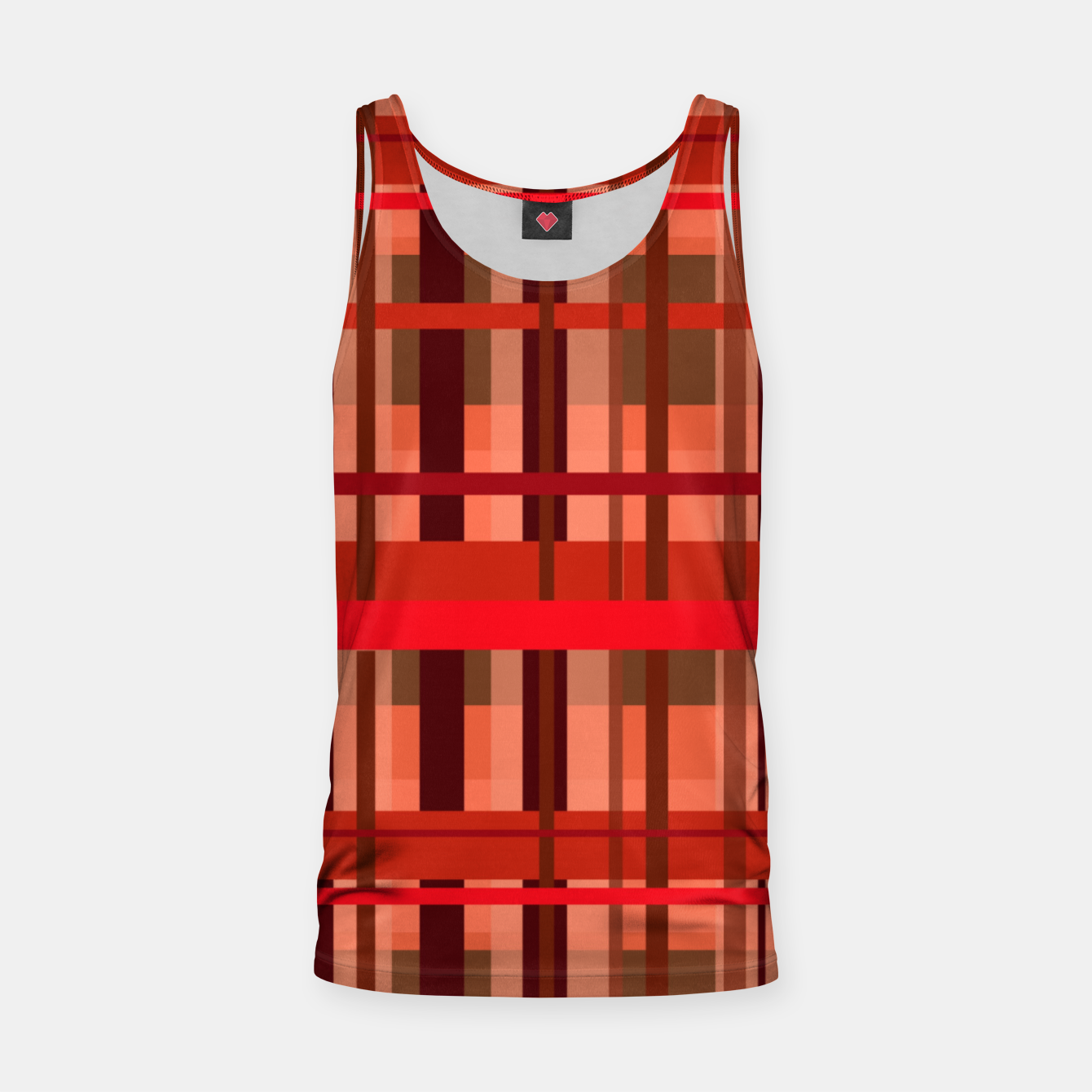 Image of Fall Plaid Tank Top - Live Heroes