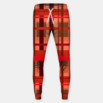 Miniaturka Fall Plaid Sweatpants, Live Heroes