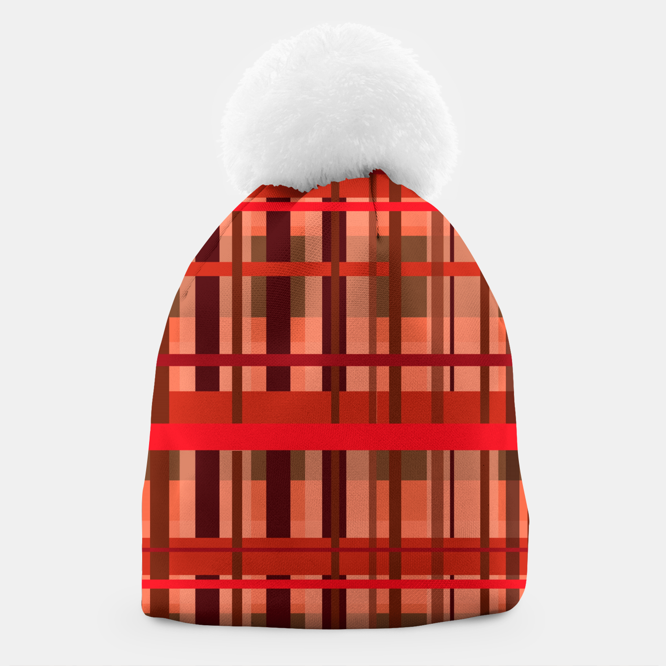 Image of Fall Plaid Beanie - Live Heroes
