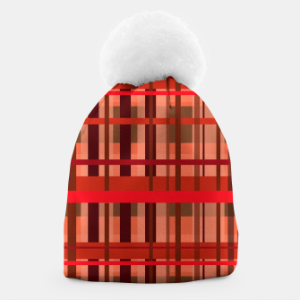 Thumbnail image of Fall Plaid Beanie, Live Heroes