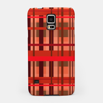 Miniaturka Fall Plaid Samsung Case, Live Heroes