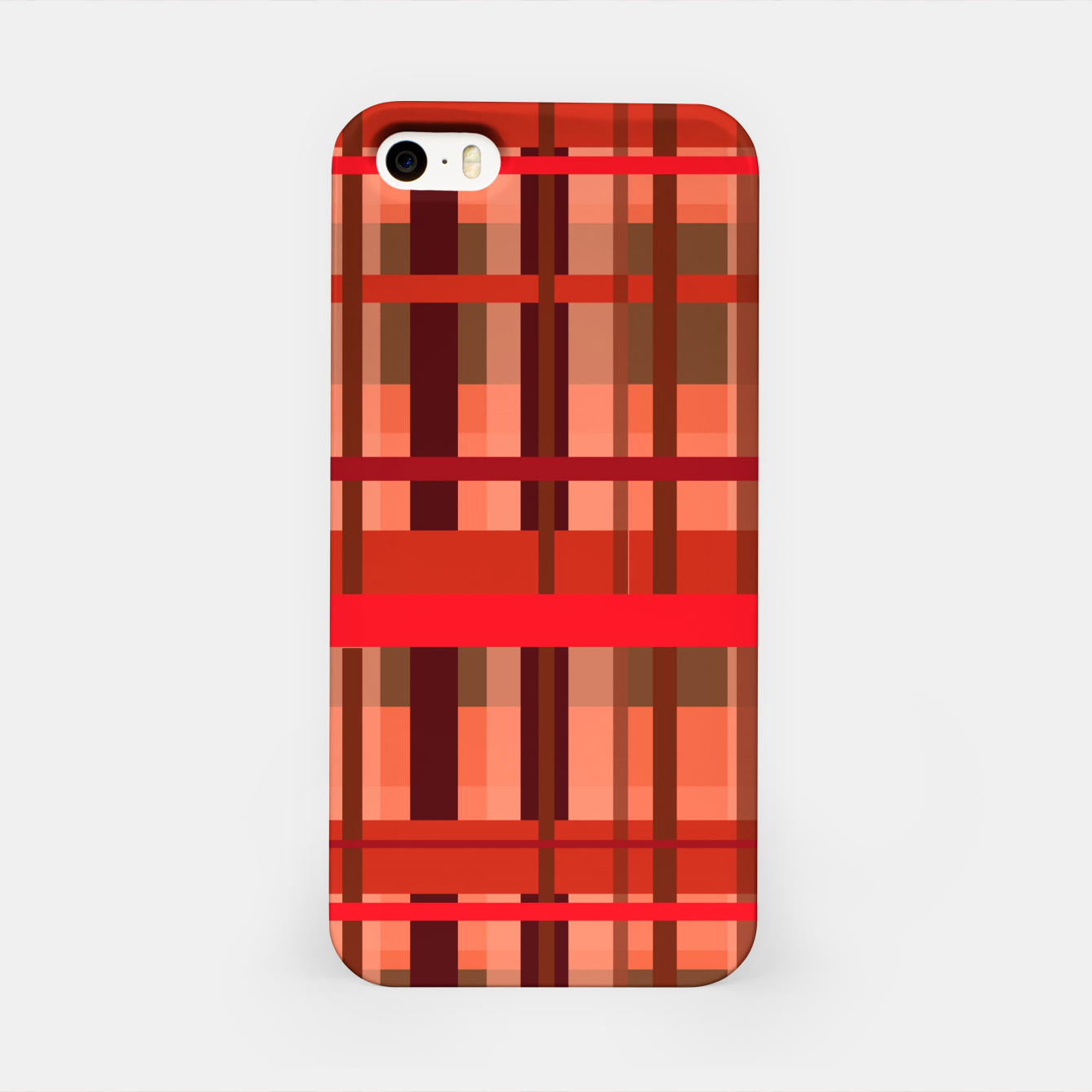 Image of Fall Plaid iPhone Case - Live Heroes