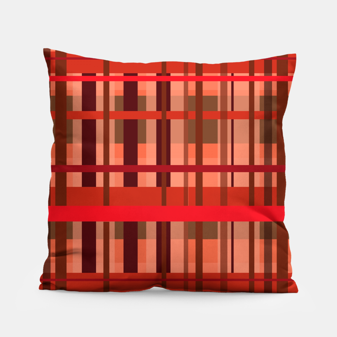 Image of Fall Plaid Pillow - Live Heroes