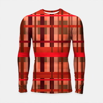 Thumbnail image of Fall Plaid Longsleeve rashguard , Live Heroes