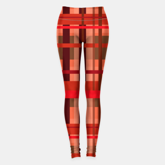 Thumbnail image of Fall Plaid Leggings, Live Heroes