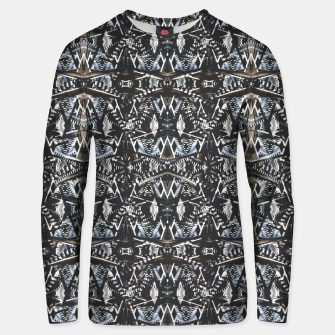 Thumbnail image of Modern Tribal Geometric Print Unisex sweater, Live Heroes