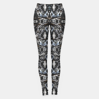 Thumbnail image of Modern Tribal Geometric Print Leggings, Live Heroes
