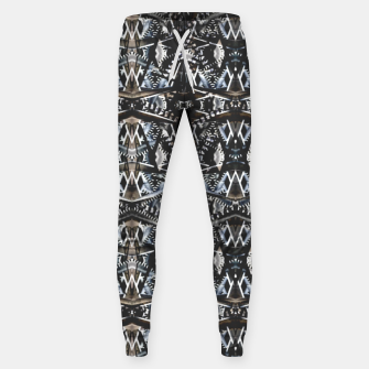 Thumbnail image of Modern Tribal Geometric Print Sweatpants, Live Heroes