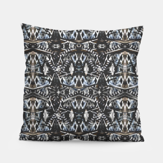 Thumbnail image of Modern Tribal Geometric Print Pillow, Live Heroes
