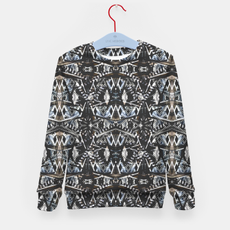 Thumbnail image of Modern Tribal Geometric Print Kid's sweater, Live Heroes