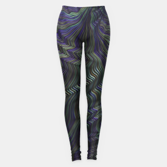 Blue Green Wave Leggings thumbnail image