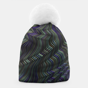 Thumbnail image of Blue Green Wave Beanie, Live Heroes