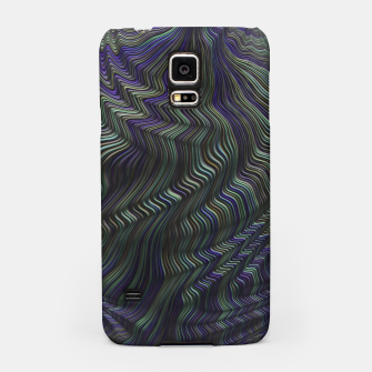 Blue Green Wave Samsung Case thumbnail image