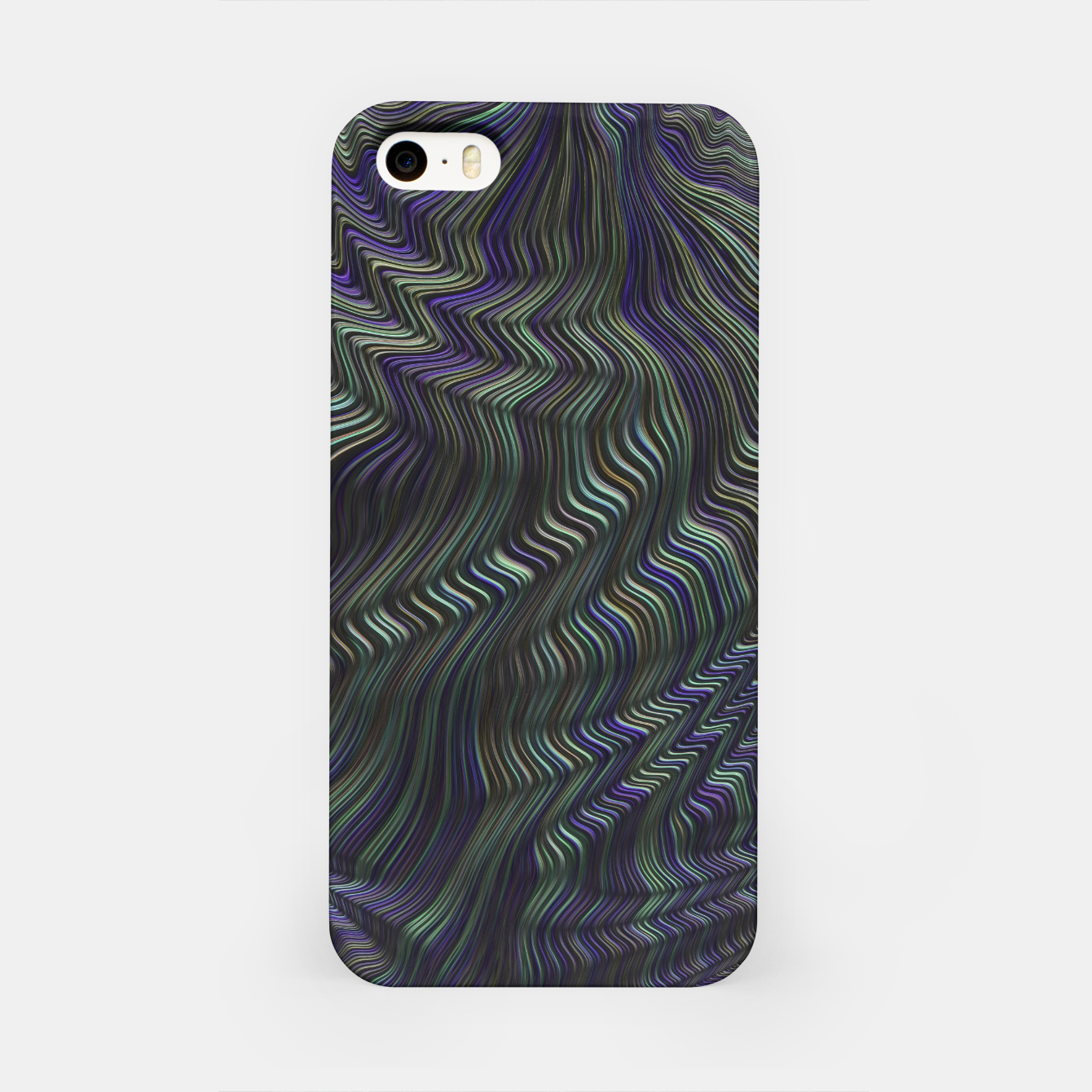 Image of Blue Green Wave iPhone Case - Live Heroes